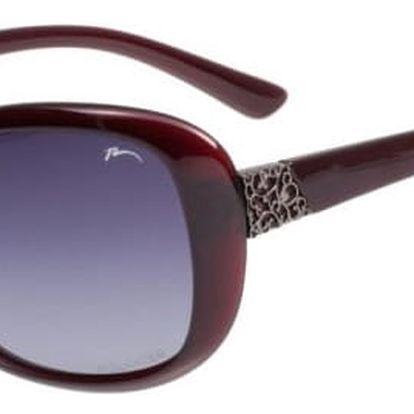 Sluneční brýle Relax Leila R0298E vínová Uni