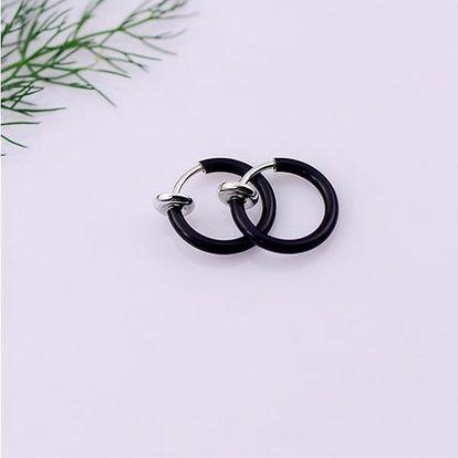 2 kusy falešných kroužkových piercingů