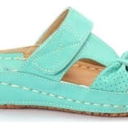 Dámské zdravotní pantofle KOKA 8 zelené