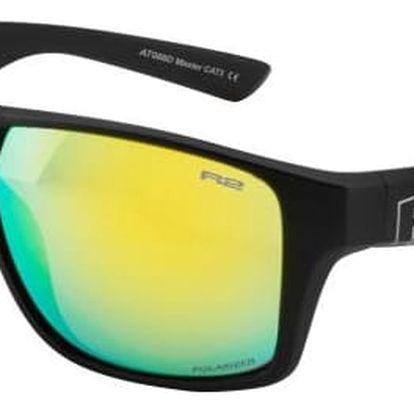 Sportovní sluneční brýle R2 MASTER AT086D černá lesklá AT086D