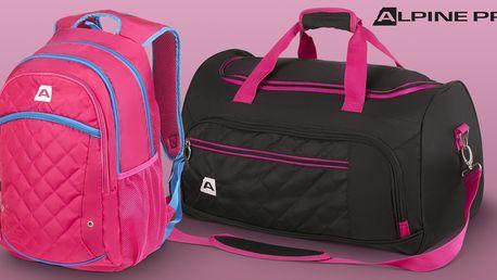 Stylové sportovní tašky a batohy Alpine Pro