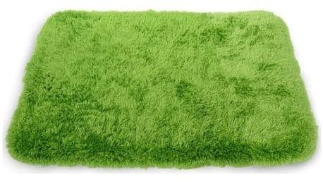 Koberec do koupelny PLUS zelený