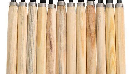 Sada nožů k řezbářské práci - 12 ks - dodání do 2 dnů