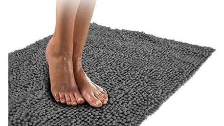 Kvalitní koberec do koupelny světle šedý
