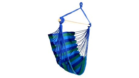 Houpačka závěsná - křeslo - modrá