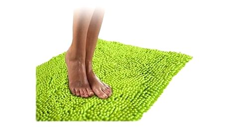 Kvalitní koberec do koupelny zelený