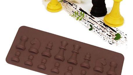 Silikonová forma - Šachové figurky