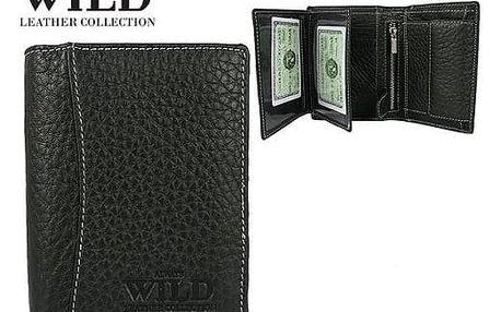 Pánská peněženka z pravé kůže ALWAYS WILD 991-B černá