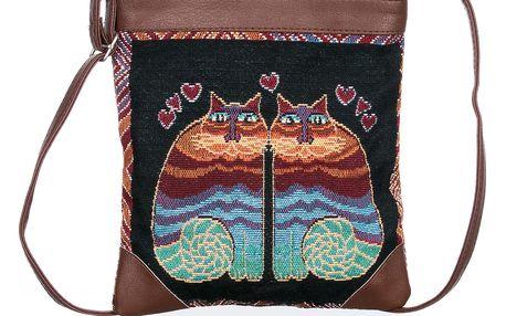 Fashion Icon Kabelka Cats crossbody přes rameno