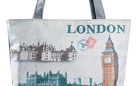 Fashion Icon Plátěná taška Red car Londýn