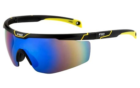 Sportovní sluneční brýle R2 SPEEDY AT088C černá, žlutá lesklá AT088C