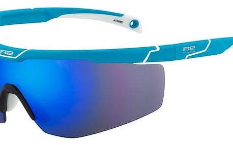 Sportovní sluneční brýle R2 SPEEDY AT088D modrá, bílá lesklá AT088D