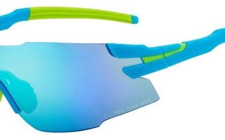 Sportovní sluneční brýle R2 DRAGON AT091A modrá, zelená lesklá uni