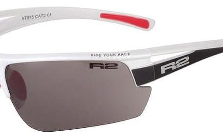 Sportovní sluneční brýle R2 SKINNER XL AT075 bílá, černá, červená lesklá AT075