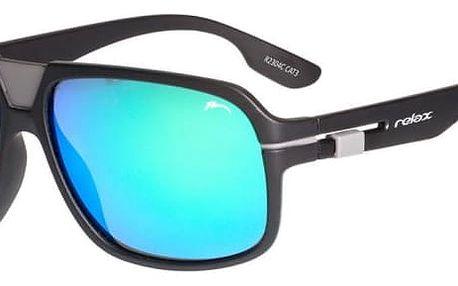 Sluneční brýle Relax Salamis R2304C černá/modrá Uni