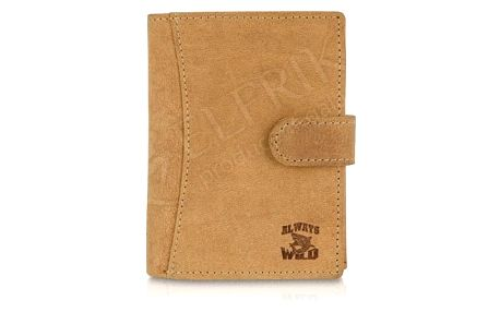 Pánská peněženka z pravé kůže ALWAYS WILD N4L-H-box