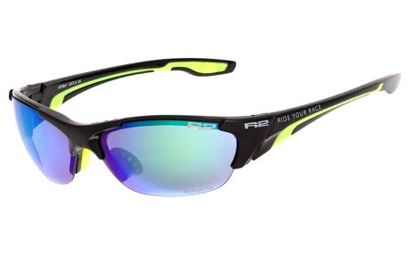 Sportovní sluneční brýle R2 CHEETAH AT054F černá, neon žlutá lesklá AT054F