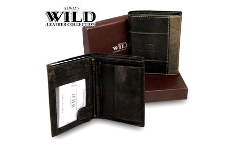 Pánská peněženka z pravé kůže ALWAYS WILD N4 DIS