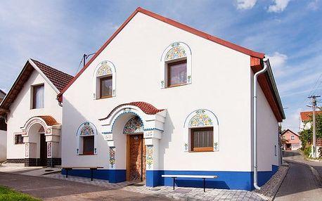 3–5denní vinařský pobyt v Búdě u Kramářů na jižní Moravě pro 2 osoby