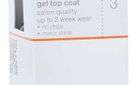 Sally Hansen Salon Gel Polish Step 3 Gel Top Coat 4 ml lak na nehty pro ženy