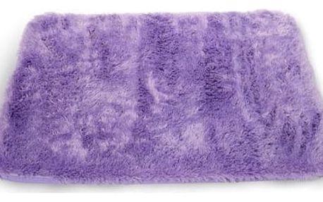 Koberec do koupelny PLUS fialový