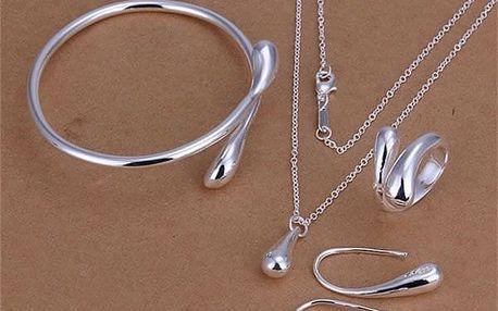 Sada šperků v designu kapky - dodání do 2 dnů