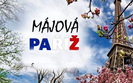 1990 Kč za last minute zájezd do májové Paříže 18. - 21.5.2017. Cena včetně dopravy a noclehu