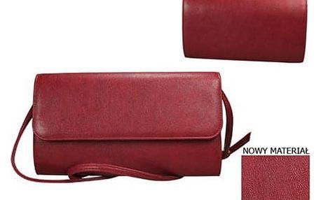 Dámské psaníčko Maxi model 3 červené