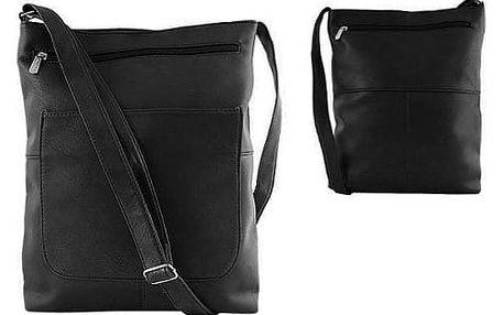 Dámská kabelka z ekokůže TC-6 černá