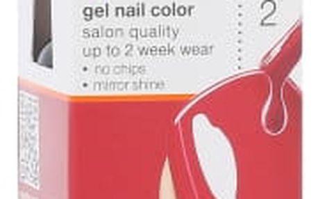Sally Hansen Salon Gel Polish Step 2 7 ml lak na nehty pro ženy 220 Red My Lips