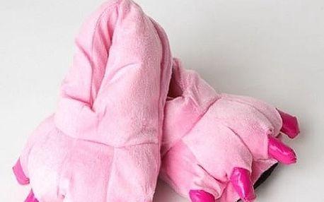 Bačkory Kigu růžové