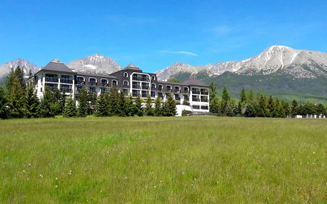 Hotel Hubert**** ve Vysokých Tatrách s polopenzí, wellness a dítětem do 12 let zdarma