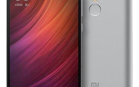 Xiaomi Redmi Note 4, CZ LTE - 32GB, šedá + Kuki TV na 60 dní zdarma k telefonům Xiaomi Note4 32GB šedá (v ceně 900,-)