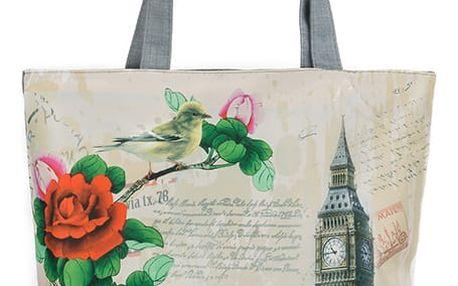 Fashion Icon Plátěná taška Rose Retro Londýn