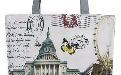 Fashion Icon Plátěná taška velkoměsta Retro