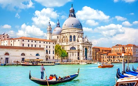 Romantický zájezd do Benátek, Verony a k jezeru Lago di Garda pro JEDNOHO