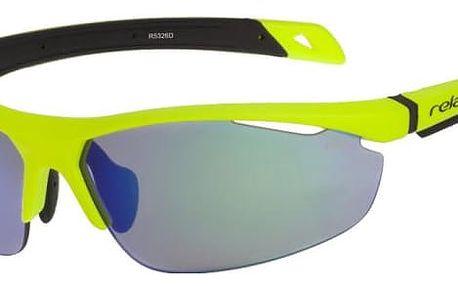 Sluneční brýle Relax Pagalu XS R5326D žlutá Uni