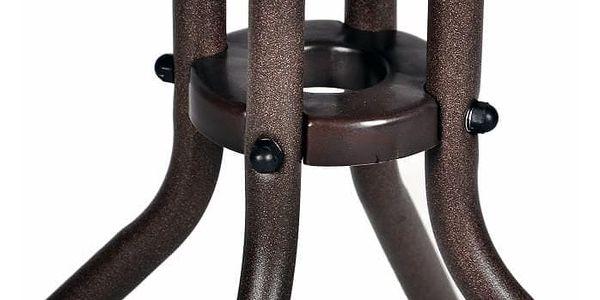 Garthen 2339 Bistro stolek se skleněnou deskou3