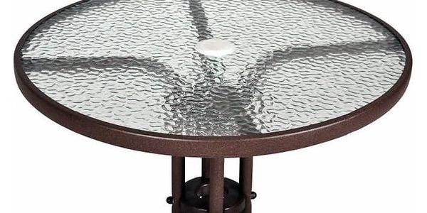 Garthen 2339 Bistro stolek se skleněnou deskou4