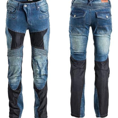 Dámské moto jeansy W-TEC Bolftyna Light Velikost XL