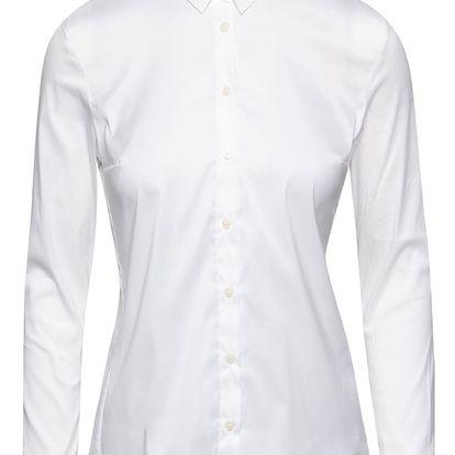 Bílá klasická košile French Connection Eastside