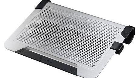"CoolerMaster NotePal U3 PLUS, 15-19"", stříbrná - R9-NBC-U3PS-GP"
