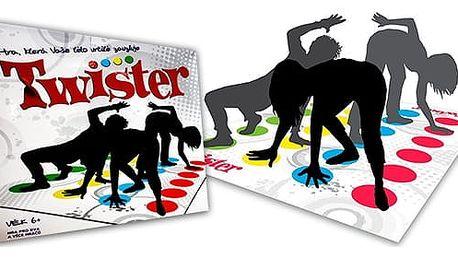 TWISTER - oblíbená společenská hra
