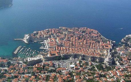 Chorvatsko - Dubrovník na 8 až 15 dní, polopenze s dopravou letecky z Prahy nebo vlastní