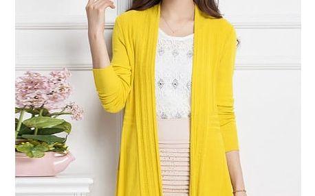 Lehký svetřík v jarních barvách