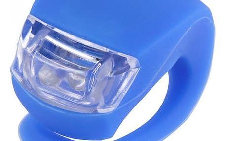 Univerzální LED světlo na kolo - modrá barva - dodání do 2 dnů