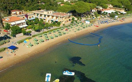 Itálie - Elba na 8 dní, plná penze, polopenze nebo snídaně s dopravou vlastní
