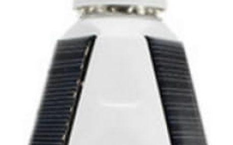 Solární LED žárovka pro kempování - 7 W