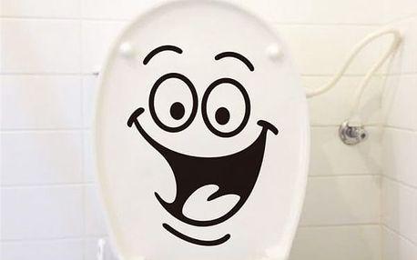 Samolepka na toaletu - dodání do 2 dnů