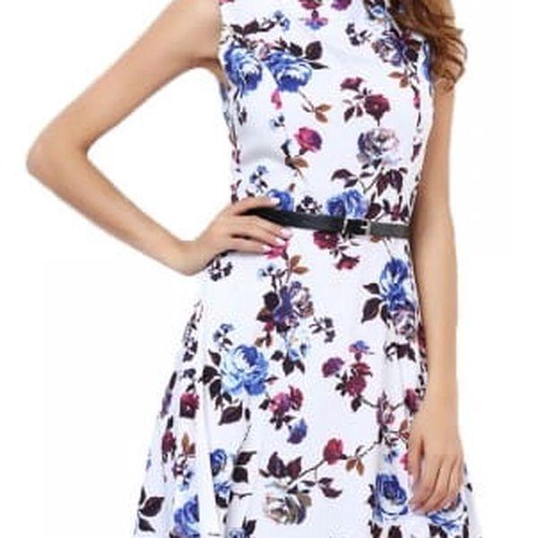 Retro šaty s délkou ke kolenům - 19 variant